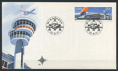 15-11-00433 - South West Africa 1977 Mi.  435 FDC 100% Air