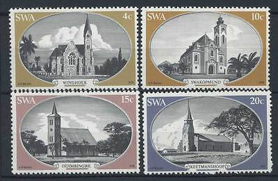 15-11-00226 - South West Africa 1978 Mi.  448-451 MNH 100% Old churches