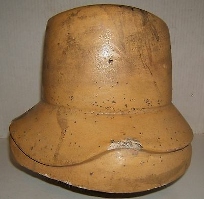 Antique French Vintage Millinary Hat Block Mold or Form #13