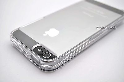 Lot of 10x Crystal Clear Transparent Hard Case 2 Piece Cover for Apple iPhone 6s