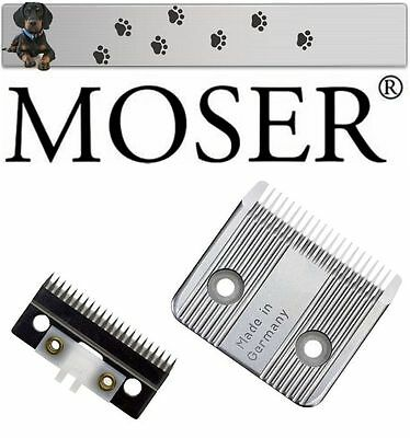 """Moser Styling Ii Tosatrice Per Cani Set Lama """"nuovo Conf. Orig."""""""