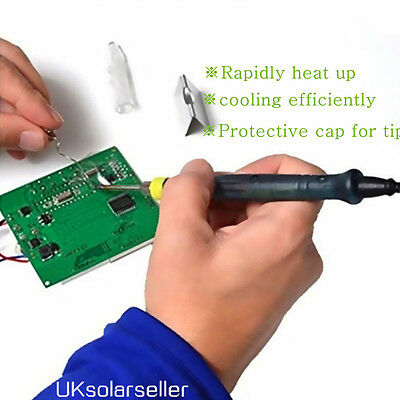 Mini Portable USB 5V 8W Electric Powered Soldering Iron Pen/Tip Touch Switch UR