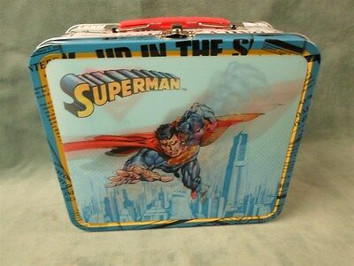 Superman Lenticular Lunch Box Tin Box Company