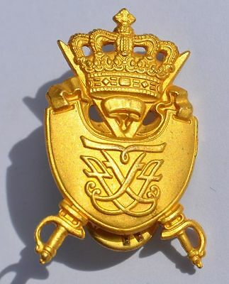 Denmark Danish Royal Army Cavalry? Pin Badge Maker's Mark A. Michelsen