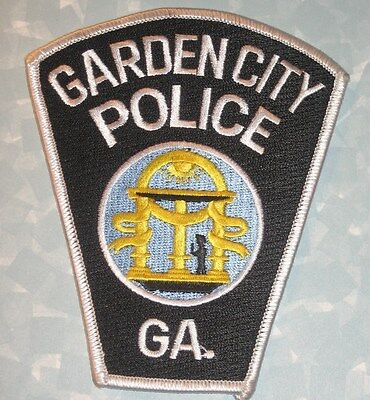 Police Patch Thomasville City Of Roses 3 X4