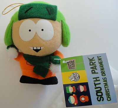 Stan South Park NEW Tagged 2008 Soft Christimas Ornament