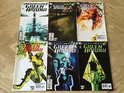 Green Arrow Year One #1-6 SET HIGH GRADE