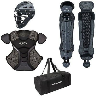 Rawlings VCS12-15 Velo Catchers Set Age 12-15 Black/Graphite Incl Equipment Bag