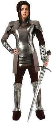 Snow White Armor Huntsman Medieval Knight Fancy Dress Halloween Adult Costume