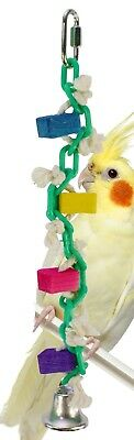 1008 Chain Wiggle Bird Toy parrot cage chew toys cages cockatiel conure parakeet