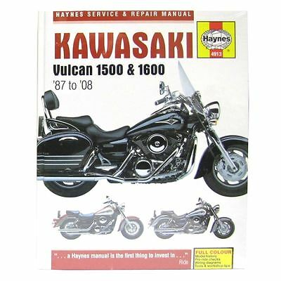 Manual Haynes for 1988 Kawasaki VN 1500 B2