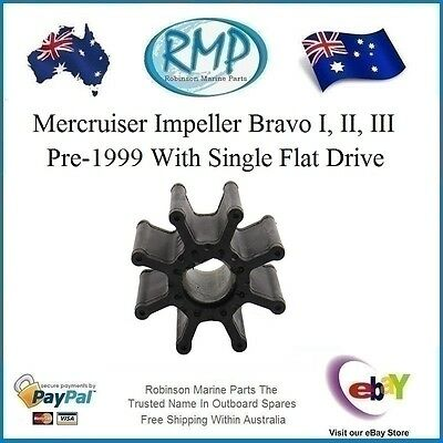 A Brand New Water Pump Impeller Suits Mercruiser Bravo Pre-1999 # R 47-59362T1