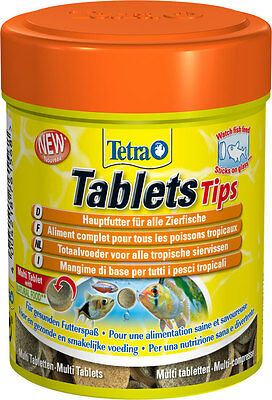 TETRA FUN TIPS TABLETS  75,165,300  Complete food for all tropical fish