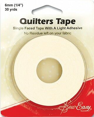 6mm Sew Easy Quilters Tape 27m - per pack (ER394)