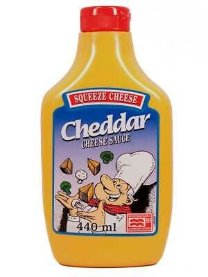 Cheddar Squeeze Cheese, Käse-Sauce (0.91 Euro pro 100ml)