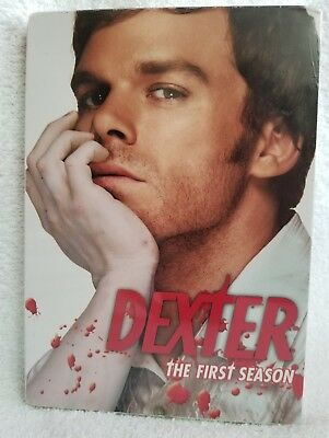 Dexter -The Complete First Season 1 (DVD 2007, 4-Disc Set) Widescreen New Sealed