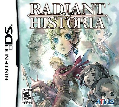 Nintendo Ds Nds Game Radiant Historia Brand New & Factory Sealed