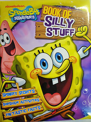 Nickelodeon Spongebob Squarepants: Padded Book of Silly Stuff Activity & Secrets