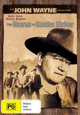 The Sons Of Katie Elder (John Wayne) New DVD R4