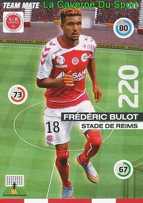 333 Frederic Bulot Gabon Stade Reims Card Update Adrenalyn 2016 Panini