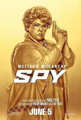 Spy - original DS movie poster - 27x40 D/S McCarthy - Advance