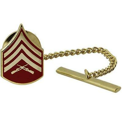 USMC Marine Corps Tie Tack Tie Tac SGT Sergeant     (Made in USA)