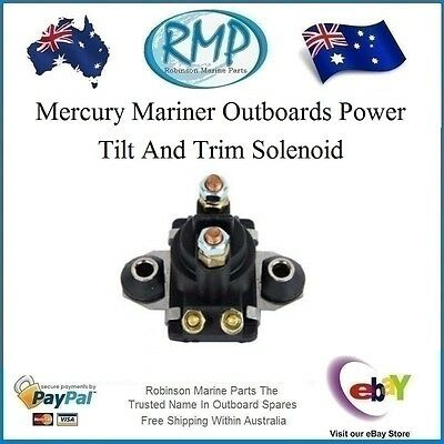 A Brand New RMP Power Tilt n Trim Solenoid Mercury Mariner # R 89-818997T1