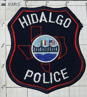 Texas, Hidalgo Police Dept Patch