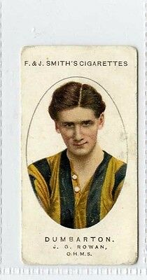 (Gx190-454) Smith, Football Club Records, #6 J.G.Rowan - DUMBARTON 1917 G