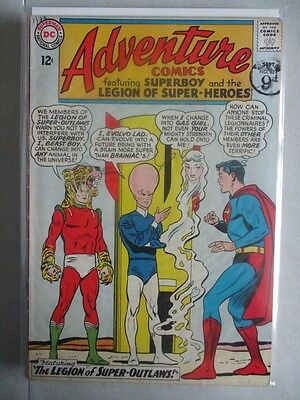 Adventure Comics (1938-2011) #324 VG (Cover Detached)