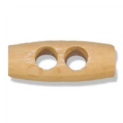 Impex Wooden 2 Hole Toggles (G2035-M)