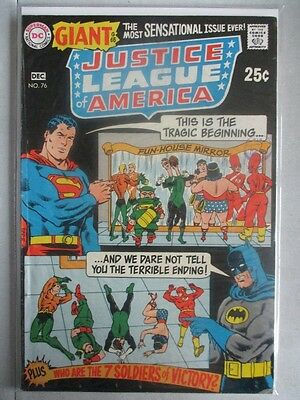 Justice League of America Vol. 1 (1960-1987) #76 VG/FN