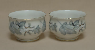 "Set of 2 Royal Albert ""Silver Maple"" SUGAR BOWLS"