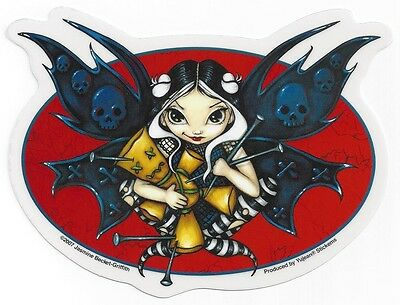 FAERIE VOODOO Fairy Sticker Car Decal Jasmine Becket-Griffith faery