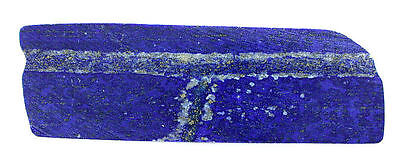 82.2 Gram Slab Aaa Quality Rich No Dye Untreated Rich Blue Lapis Cabochon Rough