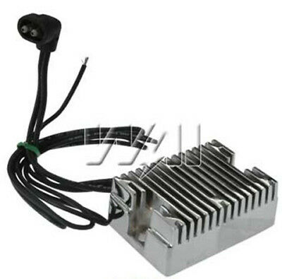 New CHROME Voltage Regulator Rectifier For Harley Davidson Replaces 74519-88