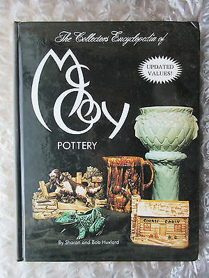 1993 Hardcover Collector Book McCoy Pottery w/ Values