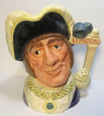 Royal Doulton Large Character Jug Dick Whittington D6846 Limited Edition