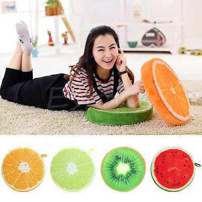 Mother & Kids Sweet Fruit Pillow Watermelon 3d Simulation Plush Toy Cushion Sofa Car Office Chair Kiwi Home Decoration Birthday Gift Always Buy Good