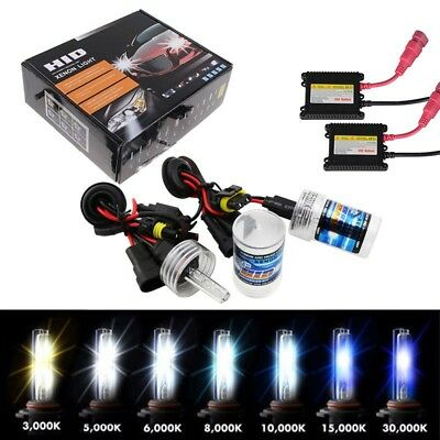 35W 55W HID Xenon Conversion Headlight Kit  H1 H3 H7 H8/H9/H11 H4-3 9005 9006