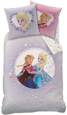 bettw sche kinderbettw sche disney frozen sisters biber 80x80 135x200 eur 26 99 picclick de. Black Bedroom Furniture Sets. Home Design Ideas