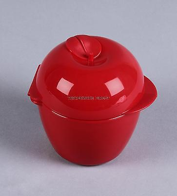 Tupperware Apple Keeper -Forget Me Not - Chilli Red