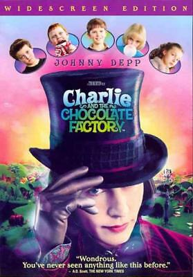 Charlie And The Chocolate Factory Used - Very Good Dvd