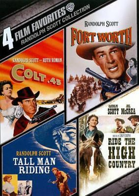 Randolph Scott Collection: 4 Film Favorites Used - Very Good Dvd