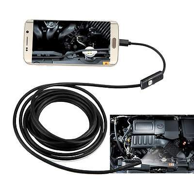 3.5M 7mm 6LED Android Phone Endoscope Borescope Inspection IP67 Probe Camera