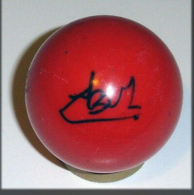 Luca Brecel Autograph Personally Signed Snooker Ball