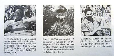 1959 B F Goodrich Ad Photo Endorsements by Marston, Reeves, Cooley & Reynolds
