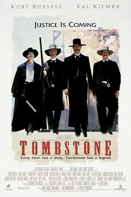 Tombstone Movie Poster 24x36""