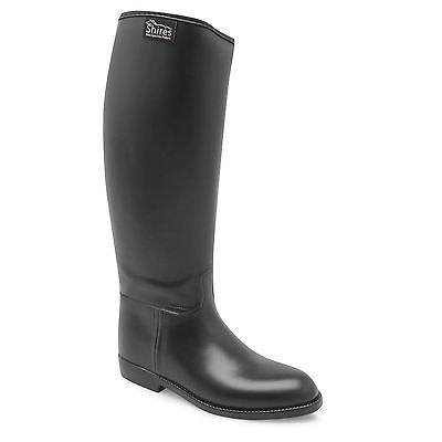 Shires Kids Child Girls Rub Ride Long Riding Boots Slight Heel Knee Footwear