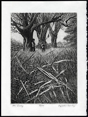 Antique Print-THE SWING-TREE-BROTHER-Crowley-ca. 1985